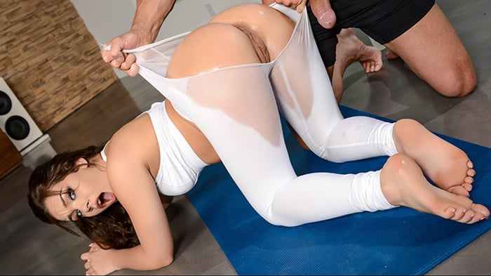 Kimber Woods in Yoga Freaks- Episode Six
