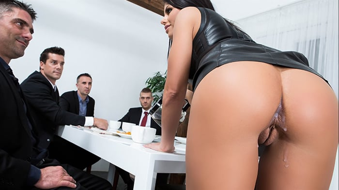 Adriana Chechik in The Dinner Party