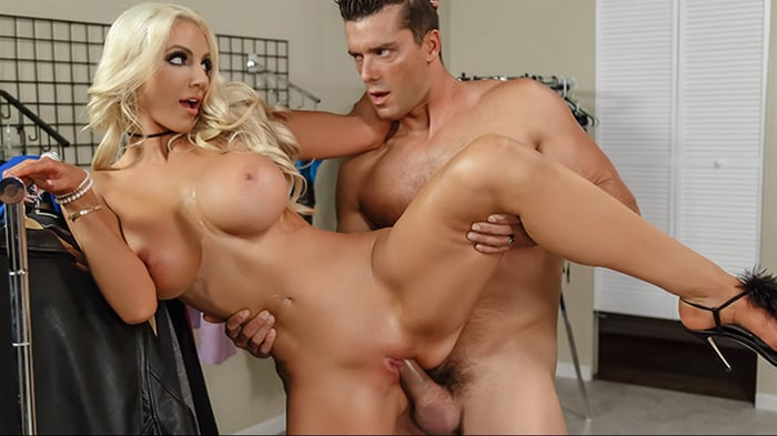Nicolette Shea in Off The Rack
