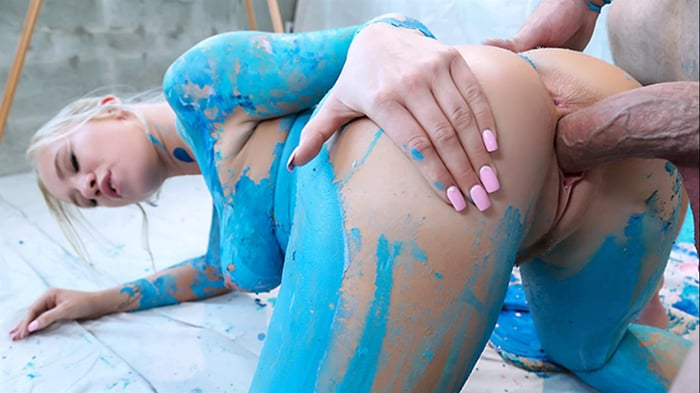 Bailey Brooke in Paint Job