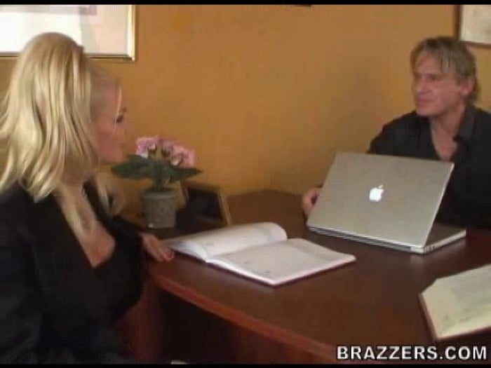 Brittany Andrews in Parent-Teacher Meeting