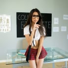 Eliza Ibarra in 'Schoolgirl Striptease'