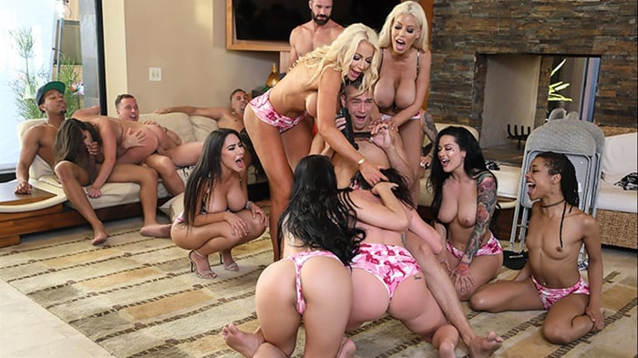 Aaliyah Hadid in Brazzers House 3: Episode 3