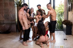 Aaliyah Hadid - Brazzers House 3: Episode 4 | Picture (1)