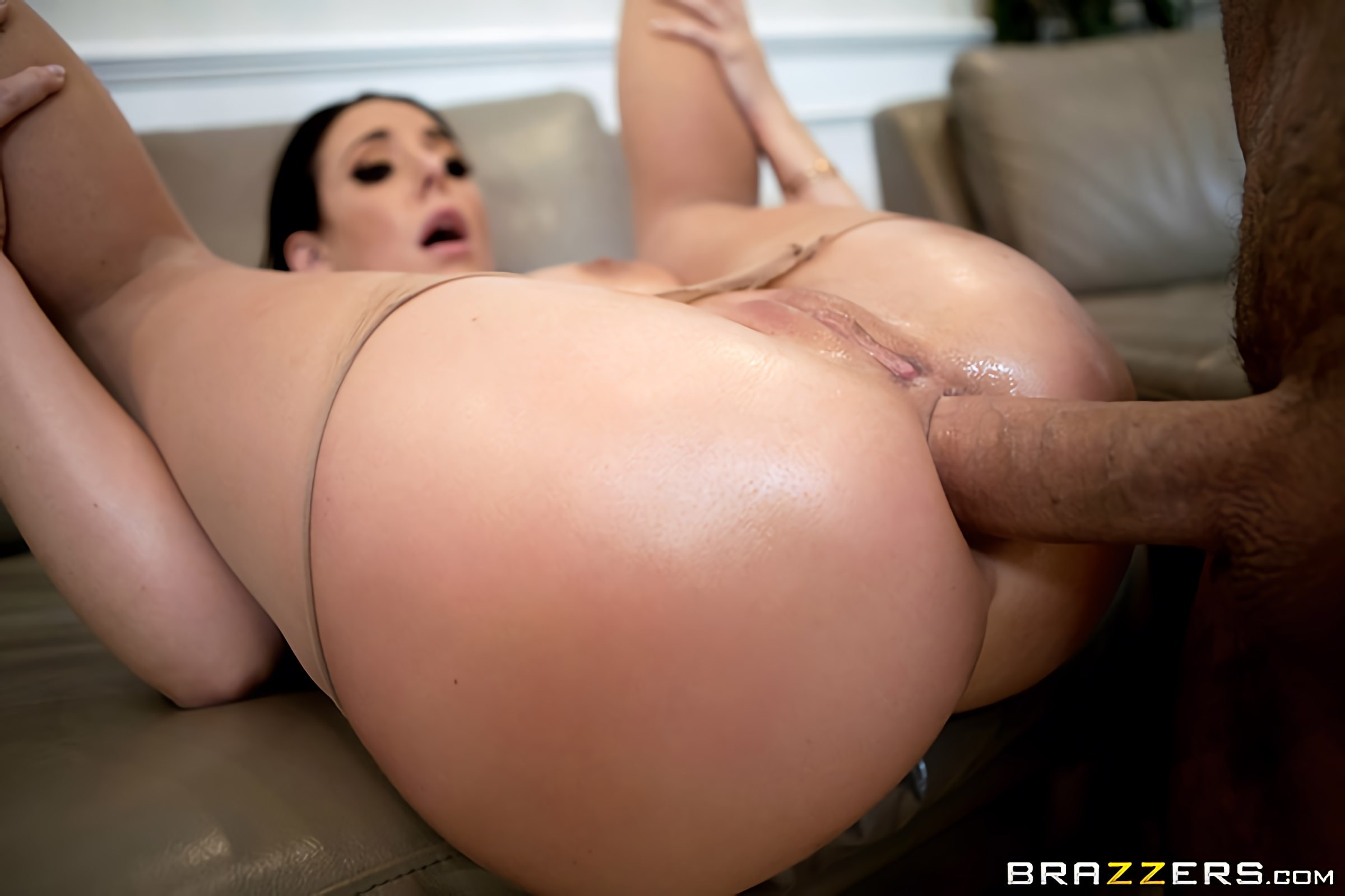 Angela White - Pounding Her Pantyhose | Picture (4)