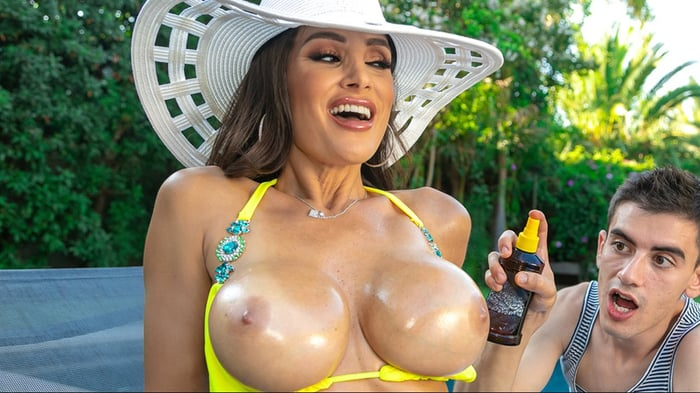 Lisa Ann in Lisa's Pool Boy Toy