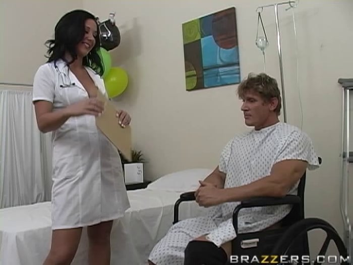 Jayden Jaymes in Wheelchair Recovery Therapy
