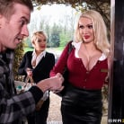 Amber Jayne in 'Door To Door Rub And Tug'