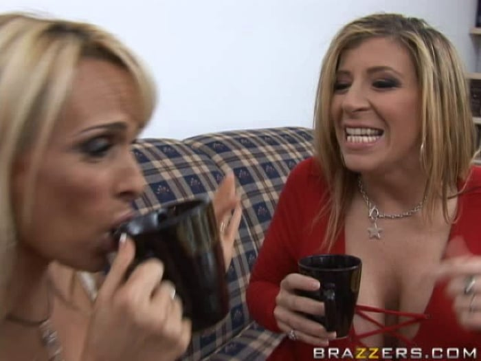 Holly Halston in Big Cock  and  Scotch equals Fun!