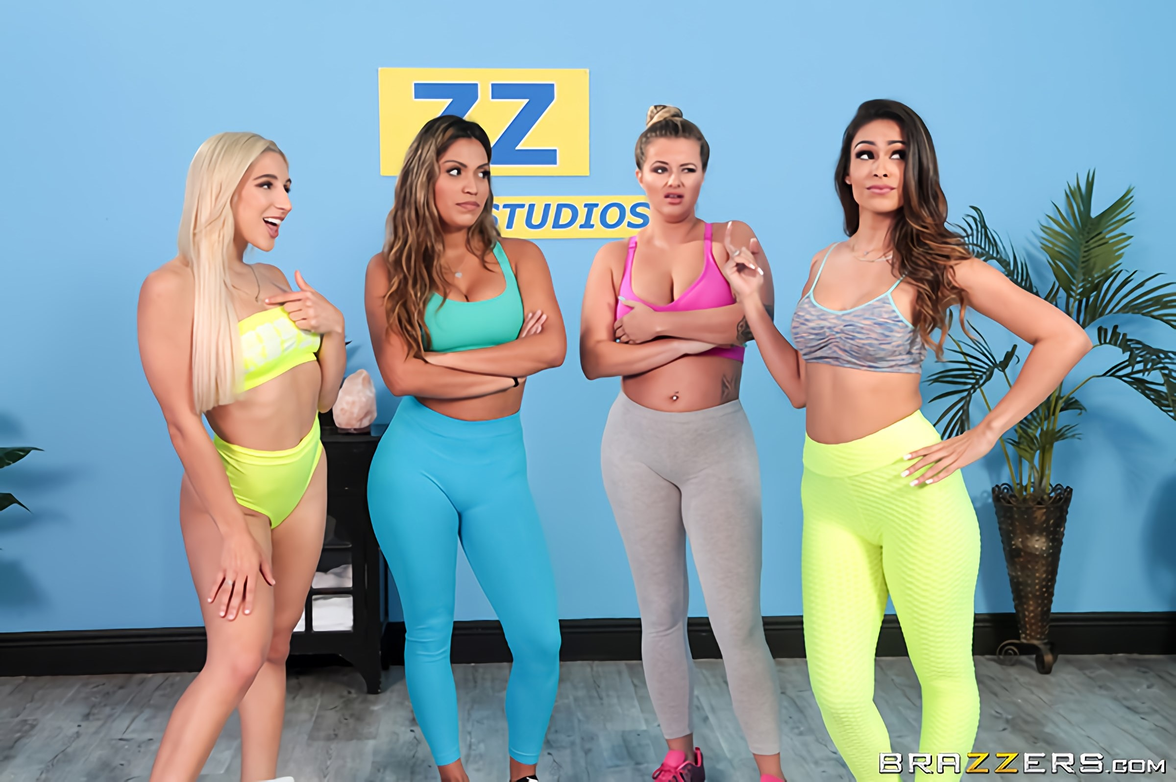 Abella Danger - Working Out Their Anger | Picture (1)