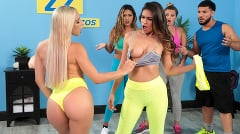 Abella Danger - Working Out Their Anger | Picture (6)