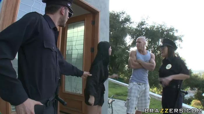 Claire Dames in Resisting Anal Arrest Pt 2