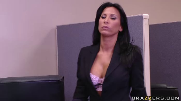 Lezley Zen in Conference Room Scuffle