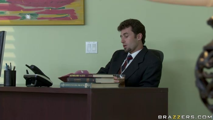 Angelina Valentine in A Real Office Whore