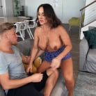 Audrey Black in 'Aubrey Spies On Horny Stepson'