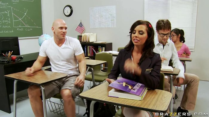 Brandy Aniston in Schoolhouse Cock