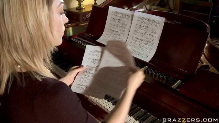 Lily Labeau in Porking the Piano Professor