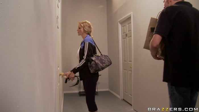 Julia Ann in Welcoming Your Cock To The Building