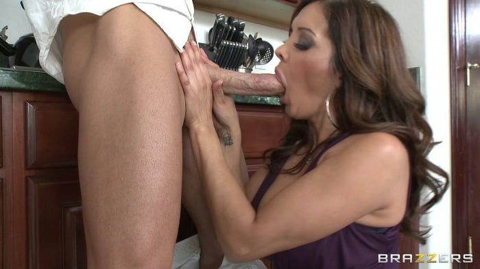 Ariella Ferrera in No Plastic Cock Can Match Johnnys M ...