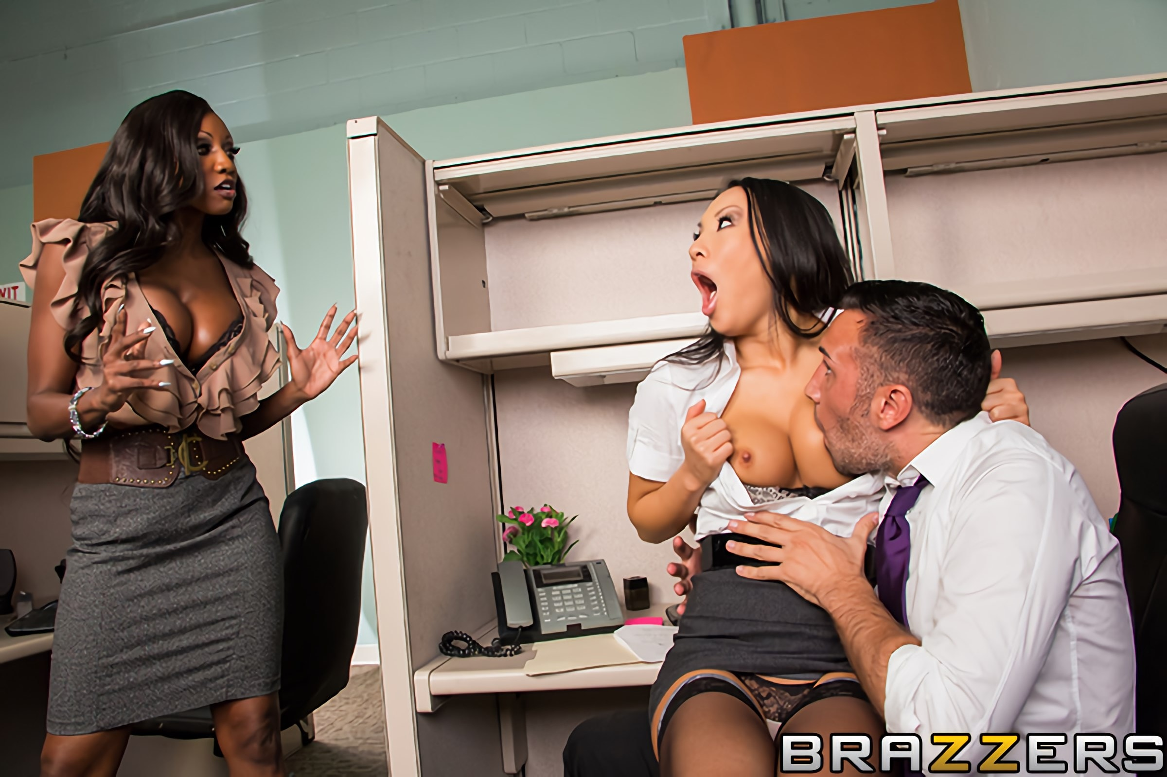 Asa Akira - One Part Keiran, Two Parts Tits | Picture (2)
