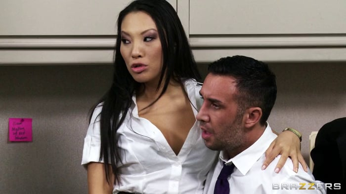 Asa Akira in One Part Keiran, Two Parts Tits