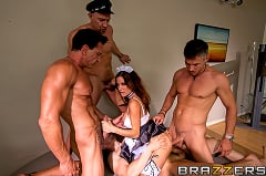 Gia Dimarco - Four Dicks to Gangbang the Maid | Picture (5)