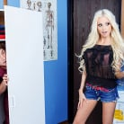 Rikki Six in 'Peeping Nurse Learns a Lesson'