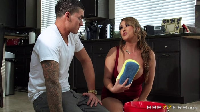 Kianna Dior in Extra Soapy Busty Asian MILF
