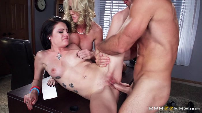 Simone Sonay in Caught With a Cock