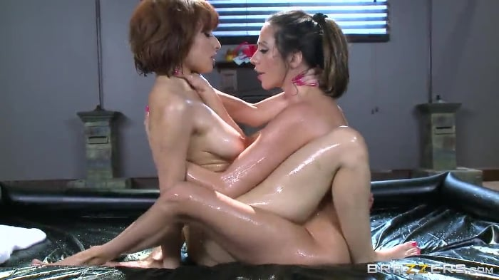Adessa Winters in Oily Playtime
