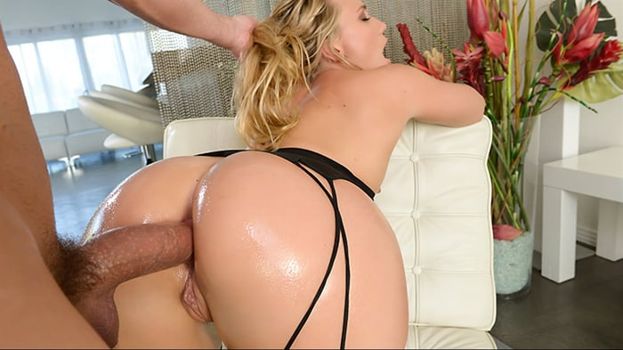 AJ Applegate in Bodystocking Butt