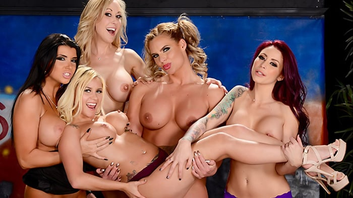 Brandi Love in The Late Night Orgy