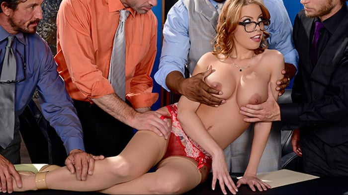 Britney Amber in The Interview- Round 3