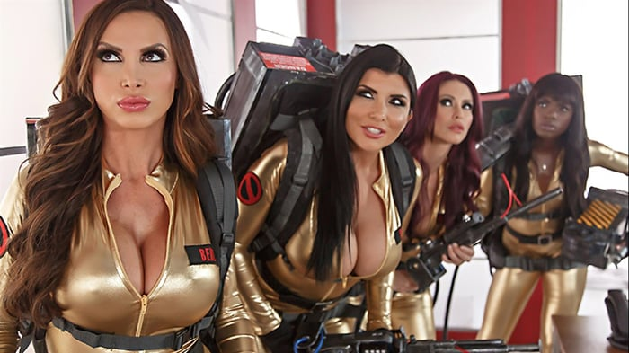 Nikki Benz in Ghostbusters XXX Parody - Part 4