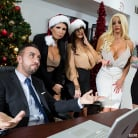 Ava Addams in 'Office 4-Play: Christmas Bonuses'