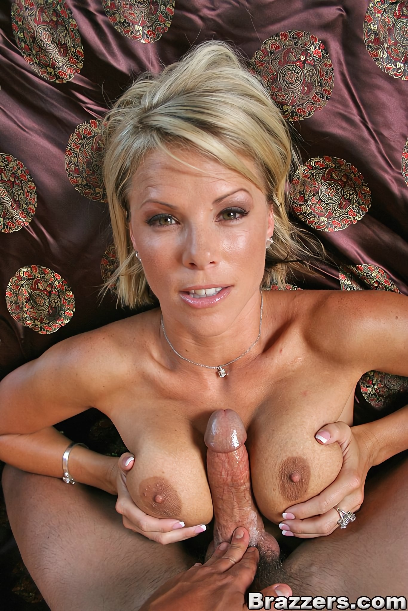 Big tit interracial anal creampie porn photo