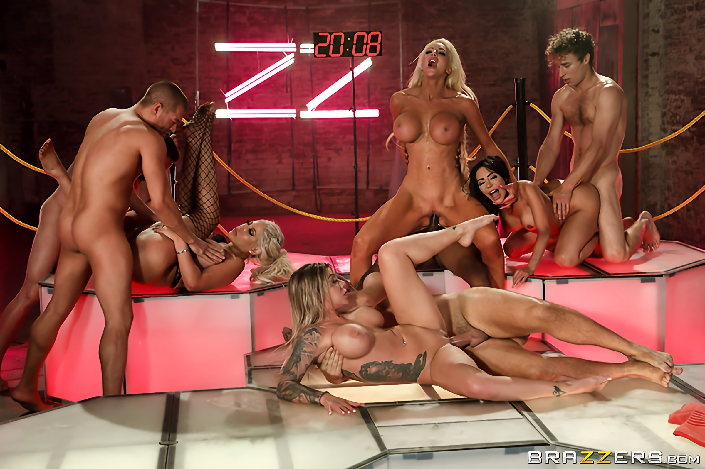Brazzers House Orgy Finale