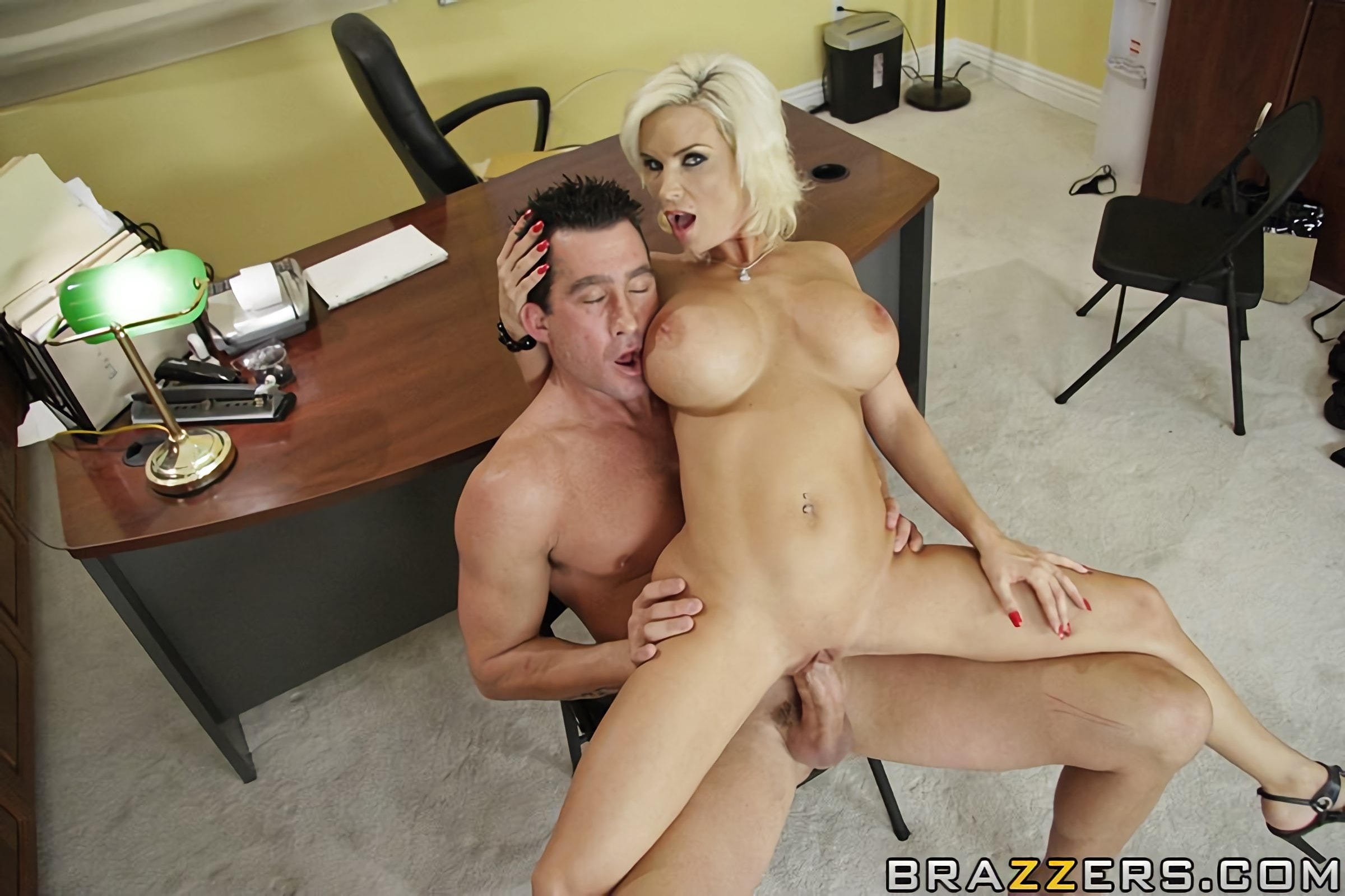 Brazzerscom Diamond Foxxx amp Billy Glide  Big Cock