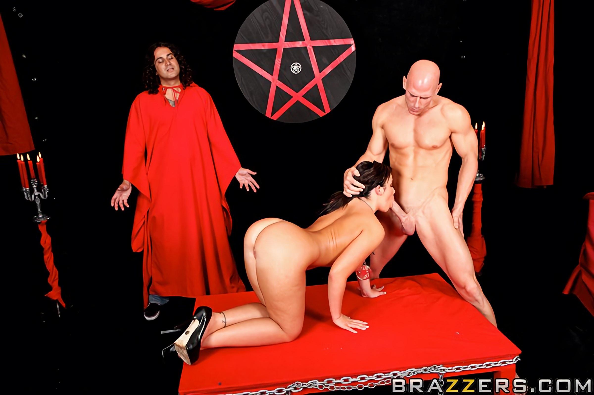 Porn Satanic Blasphemy
