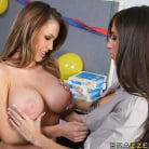 April O'Neil in 'Office Bonus Party'