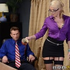 Leya Falcon in 'Defiance in the Office'